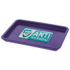 Antimicrobial KeepSafe Change Trays in Purple