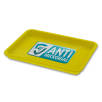 Antimicrobial KeepSafe Change Trays in Yellow