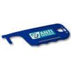 Antimicrobial ID Card Holder Hygiene Key in Blue