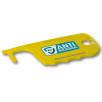 Antimicrobial ID Card Holder Hygiene Key in Yellow