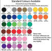 Face Mask Exempt Lanyards Colour Swatch