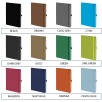 Mood Notebooks Available in 23 Colours from Total Merchandise