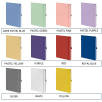 A5 Mood Notebooks Available in 23 Colours from Total Merchandise