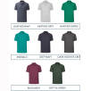 Individually Named Fruit of the Loom Polo Shirts