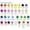 Pom Colour Guide for Face Mask Message Bugs