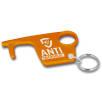 Antimicrobial Hygiene Hook Keyring in Orange