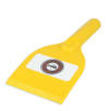 Antimicrobial Deluxe Ice Scraper in Yellow