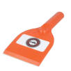 Antimicrobial Deluxe Ice Scraper in Orange