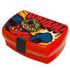 Lunch Box With Clip in Red