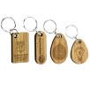 Moso Bamboo Phone Stand, Coaster & Keyring Sets