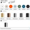 Button options for Prodir QS40 True Biotic Pens (POA)