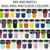 Bayamo Mix & Match Travel Mugs