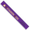 30cm Recycled Plastic Rulers in Purple
