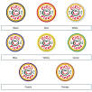 Circle Deluxe Coaster Colour Options for Work From Home Gift Sets