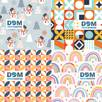 Compliment Card Pattern Examples for Work From Home Gift Sets