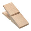 Wooden Peg Magnets