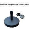 Optional 25kg Fillable Parasol Base
