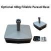 Optional 40kg Fillable Parasol Base