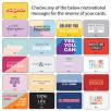 Mood Motivation Card Message Options