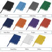 Colour options for Mood Pocket Notebooks