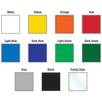 Colour Options for Box Files (Some Colours Price on Application)