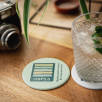 Recycled Biodegradable Plastic Coasters