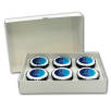 Postal Iced Cupcake Boxes (6 Pack)