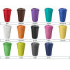 Spill-Proof Americano Mugs with Grip - Tumbler Colours