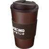 Spill-Proof Americano Mugs with Grip in Brown