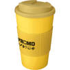 Spill-Proof Americano Mugs with Grip in Yellow