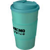 Spill-Proof Americano Mugs with Grip in Aqua