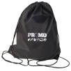 Core Range Drawstring Bag in Black