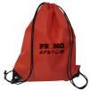 Core Range Drawstring Bag in Red