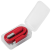 2-in-1 USB Charging Cables in Red