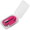 2-in-1 USB Charging Cables in Pink