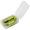 2-in-1 USB Charging Cables in Lime Green