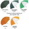 Promo Budget Golf Umbrella Colour Swatch