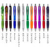 Printed Curvy Ballpens with matching coloured grips from Total Merchandise