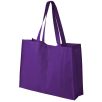 Big Shopper Bags in Purple