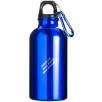 400ml Aluminium Water Bottles in Cobalt Blue