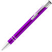 Custom printed Electra Metal Ballpens in purple from Total Merchandise