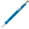 Promotional Electra Metal Ballpens in light blue from Total Merchandise