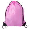 Budget Drawstring Bags in Pink