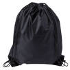 Budget Drawstring Bags in Black