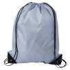 Budget Drawstring Bags in Grey