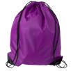 Budget Drawstring Bags in Purple