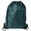 Budget Nylon Drawstring Bags in Green