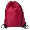 Budget Drawstring Bags in Burgundy