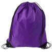 Budget Drawstring Bags in Deep Purple