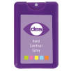 Credit Card Hand Sanitisers in Purple